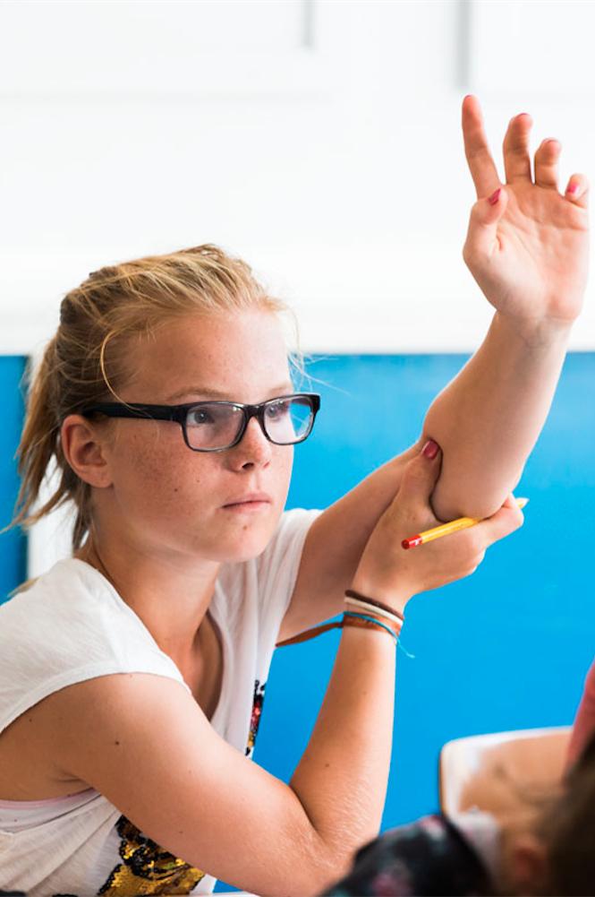 Annabel, leerling sportklas HBM