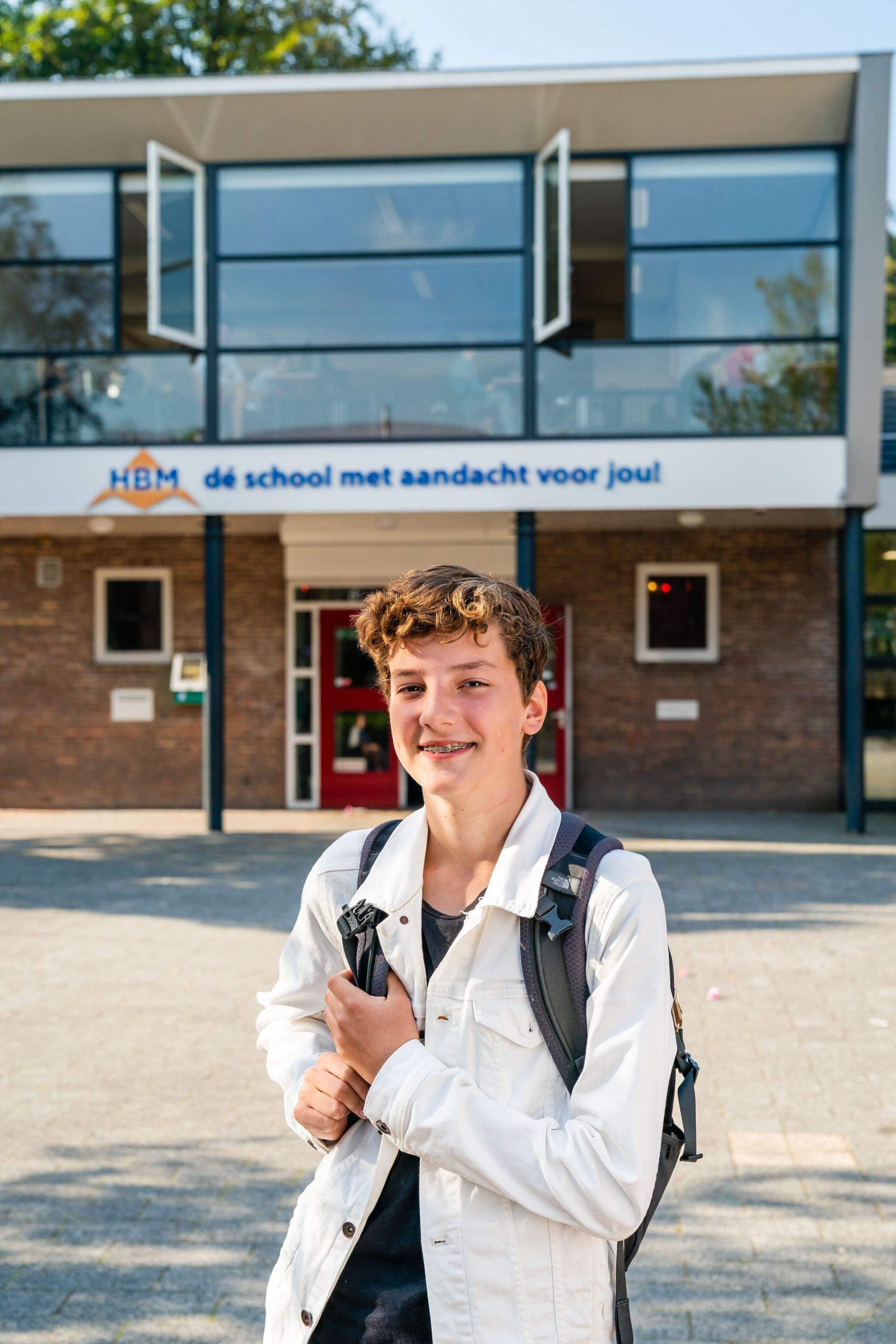 Raf, leerling sportklas HBM